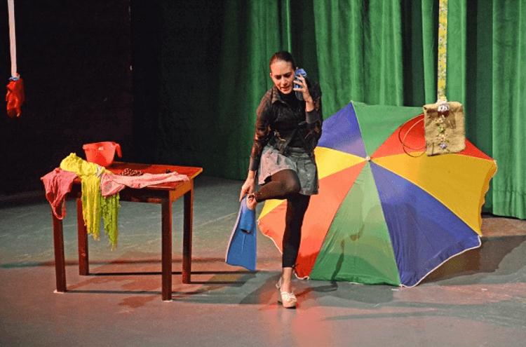 Paulina Lara Festival de monólogos Campeche
