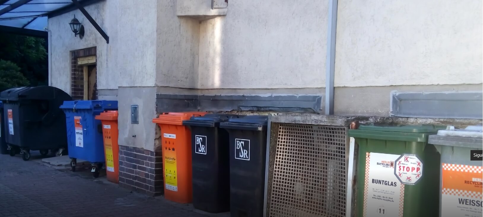 basura en Alemania