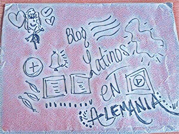 latinos en alemania -doodle - pauli